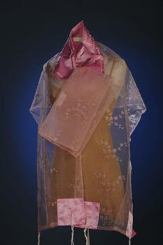 ADE134 Talit - Pink Organza