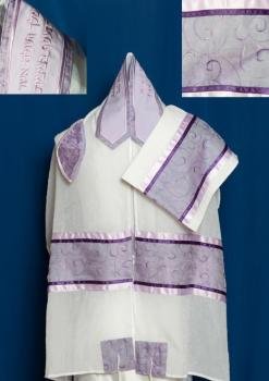Three-Piece Tallit Set for Women ADE-962