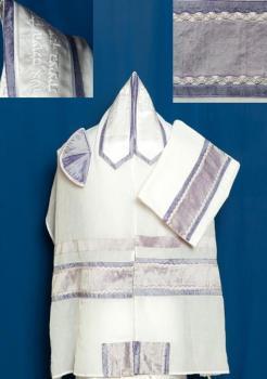 Lavender Chiffon Tallit Set