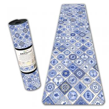 Chanukah Tiles Table Runner