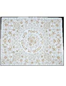 Gold Threads Challah Cover - Cloth