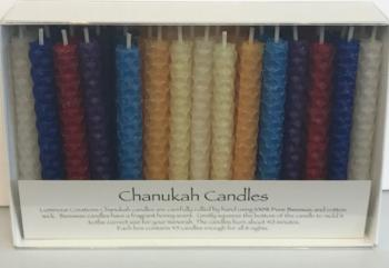 Beeswax Candles - Multicolored Primary or Pastel
