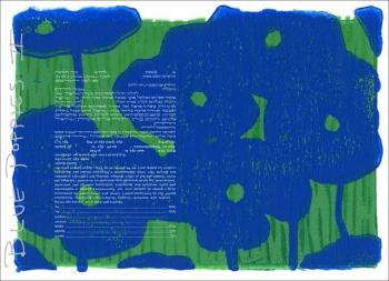 Blue Poppies 2 Ketubah