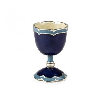 Small Kiddush Cup - Blue