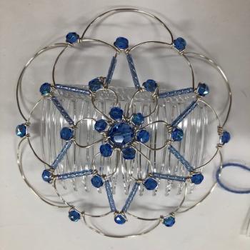 Blue Silver Star Wire Kepa