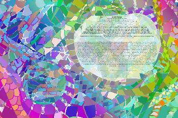 The Bold Mosaic Ketubah
