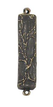 Mezuzah Tree of Life, Oxidized Bronze