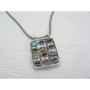 Choshen Necklace - Sterling Silver