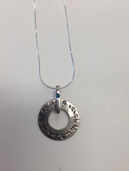 Priestly Blessing Pendant - Sterling Silver