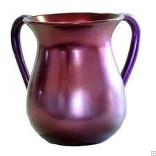 Burgundy Anodized Aluminum Hand Wash cup