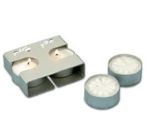 Shabbat Traveling Candle Holders - Aluminum