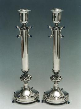 Candlesticks Sterling Silver 006L by Dabah