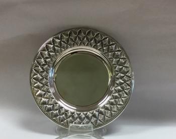 Basket Plate - Sterling Silver