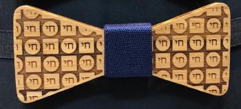 Wooden Bow Tie Chai