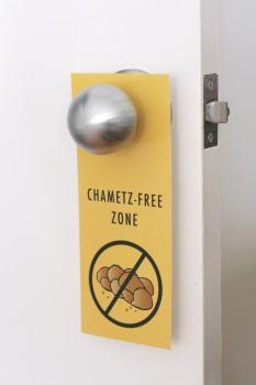Chametz Free Zone Door Hangers