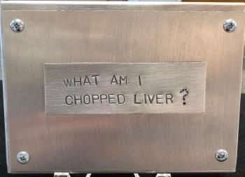 Chopped Liver Sign