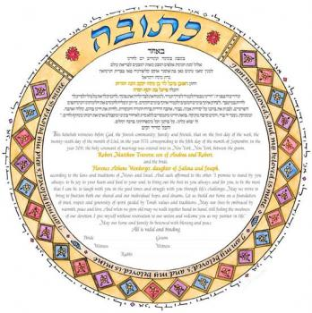 Circle of Rome 2 Ketubah