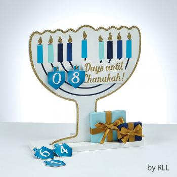 Chanukah Wood Countdown