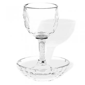 Crystal Kiddush Cup