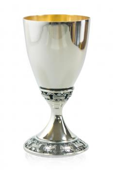 Forever Linked Sterling Silver Kiddush Cup