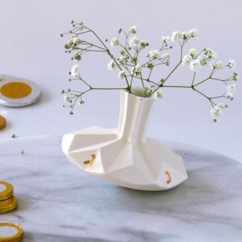 Dreidel Vase