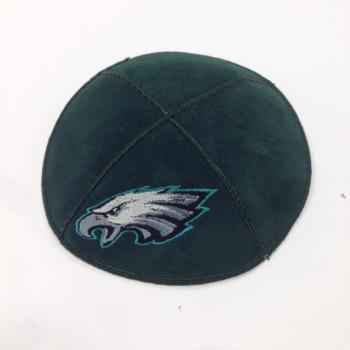 Eagles Kippah - Suede