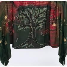 Earth Tone Tree of Life Talit  - Silk Bijoux