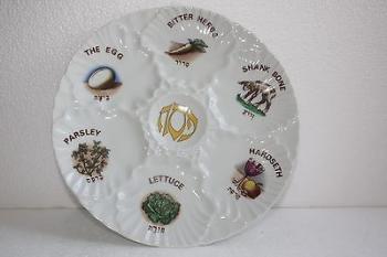 Illustrated Seder Plate - Ceramic