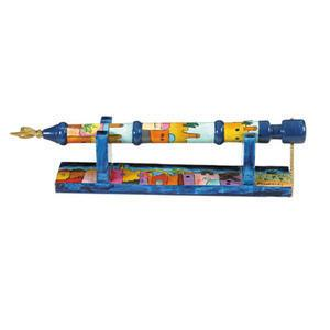 Emanuel Jerusalem Torah Pointer - Painted Wood