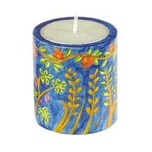 Seven Species Memorial Candle Holder