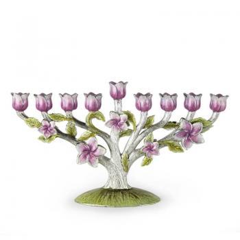 Fleur-de-lis Menorah