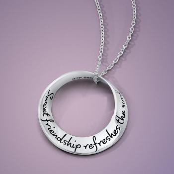 Sweet Friendship Refreshes the Soul Pendant