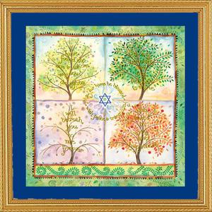 Seasons Home Blessing - Framed Art