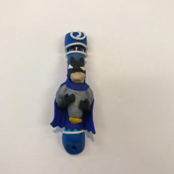 BATMAN MEZUZAH - FIMO CLAY
