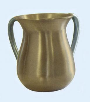 Gold with Silver handles Wash Cup
