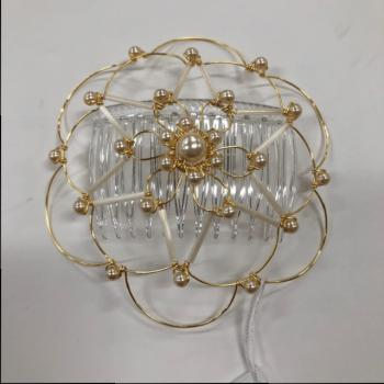 Gold Pearl Star Wire Kepa