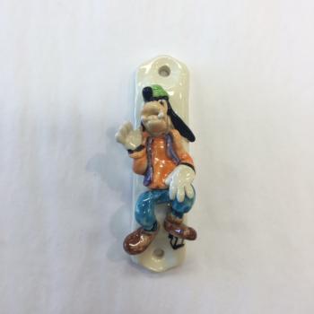 Goofy Mezuzah - Painted Porcelain