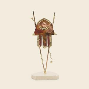Copper Hamsa Sculpture - Copper