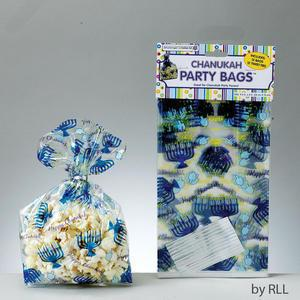 Chanukah Cellophane Party Bag