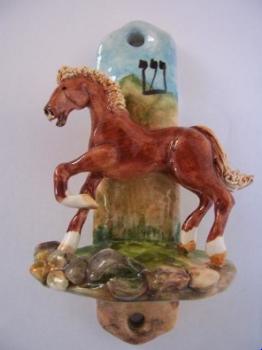 Horse Mezuzah