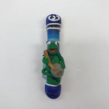 KERMIT THE FROG MEZUZAH - FIMO CLAY