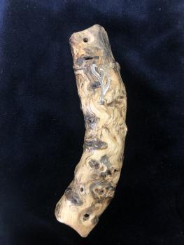 Handcrafted Wood Mezuzah by Yaron Amir