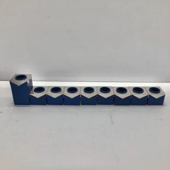 9 Pieces Menorah - Aluminum