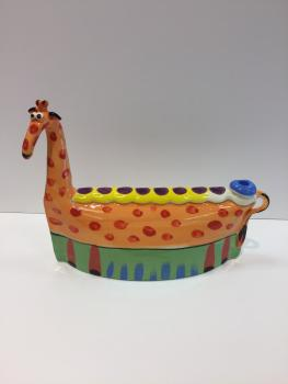 Giraffe Menorah by Inna O.