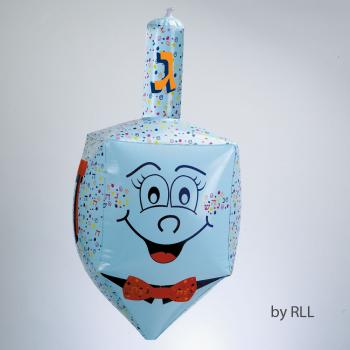 Inflatable Dreidel - Plastic