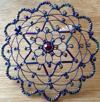 Iridescent Star Wire Kepa