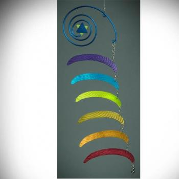 Rainbow Whirl Air Sculpture