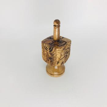 Handcrafted Jerusalem Dreidel