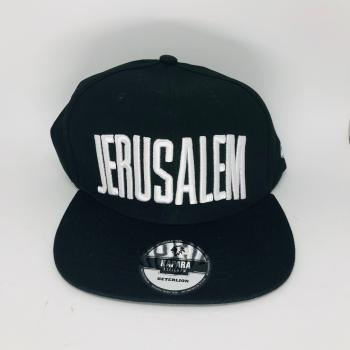 Jerusalem Hat Black