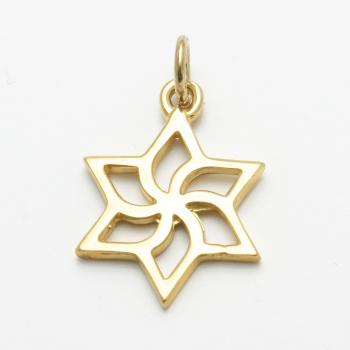 Gold Star of David - 14kt Yellow Gold